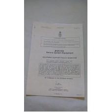 CLANSMAN BIDC/300 SECURE SPEECH EQUIPMENT EQUIPMENT SUPPORT POLICY DIRECTIVE